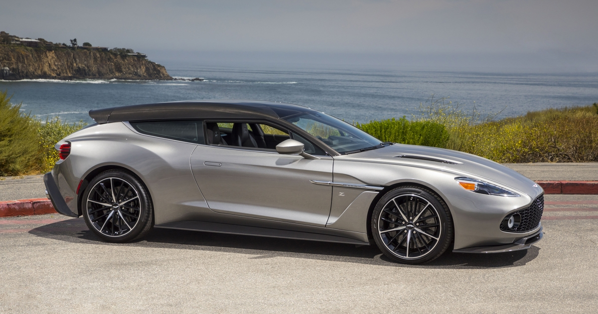 2019 Vanquish Zagato Shooting Brake For Sale Aston Martin Newport Beach